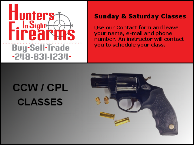 CCW / CPL Classes